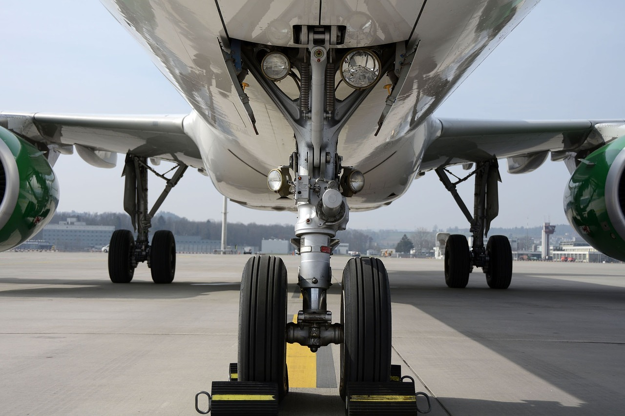 chassis, nosewheel, wheels